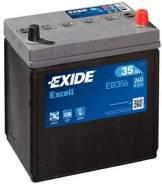 Аккумулятор EXIDE EXCELL 12V 35AH 240A ETN 0(R+) B0, тонкие клеммы 187x127x220mm 10.9kg EXIDE