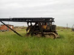 ЧТЗ Т-170. Продам сваебой на базе трактора Т 170, 6 000куб. см.