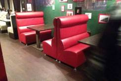 Мебель на заказ для ресторанов и кафе по индивидуальному проекту