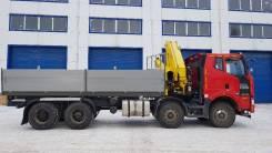 FAW. Продам c КМУ Инман 180 8 тонн, 2 000куб. см., 8x4