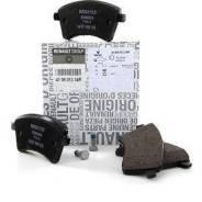 Колодки тормозные дисковые. Renault Kangoo Двигатели: 5AM, K4M, K7M, K9K