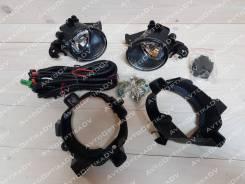 Фара противотуманная. Nissan Qashqai, J10, J10E HR16DE, K9K, M9R, MR20DE