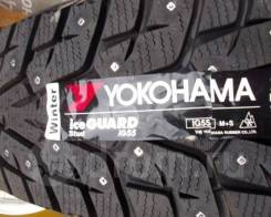 Yokohama Ice Guard IG55. Зимние, шипованные, 2017 год, без износа, 4 шт