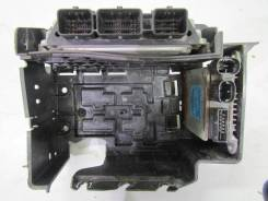Блок управления двигателя + блок управления электроусилителя с кронш. Citroen C2