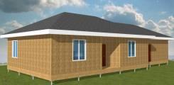 Домокомплект 1-эт. дома с гаражом 158,4 м2 Sip панели в Красноярске