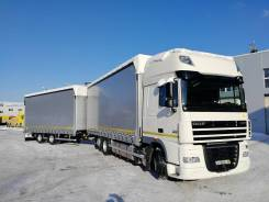 DAF XF 105. Сцепка DAF FAR XF 105.460 Super Space Cab, 12 900 куб. см., 60 000 кг., 6x2