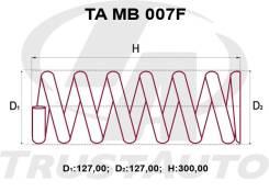 Комлект Усиленных +2см Пружин MMC Canter FE507B/FE50C/50E/52C/52E/53E MC120797