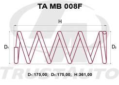 Комлект Усиленных +2см Пружин MMC Pajero IO H66W, H67W, H76W, H77W MR519103