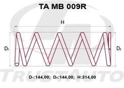 Комлект Усиленных +2см Пружин MMC Pajero IO H66W, H67W, H76W, H77W MR319748