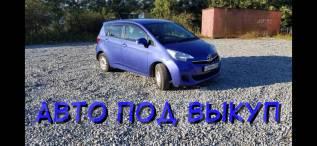 Toyota Ractis. Без водителя