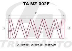 Комлект Усиленных +2см Пружин Mazda MPV LVLR L029-34-011