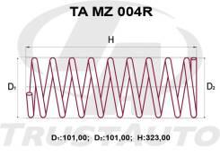 Комлект Усиленных +2см Пружин Mazda Demio DW3/DW5 D208-28-011
