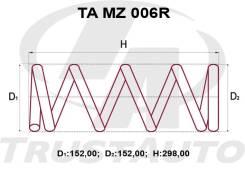 Комлект Усиленных +2см Пружин Mazda Tribute EP3/EPEW E114-28-011