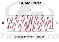 Комлект Усиленных +2см Пружин Mazda Demio DY3/DY5 D350-28-011D
