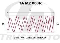 Комлект Усиленных +2см Пружин Mazda MPV LVLR LA12-28-011