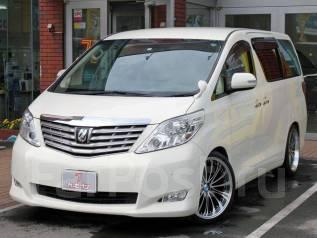 Toyota Alphard. вариатор, 4wd, 2.5 (170л.с.), бензин, б/п, нет птс. Под заказ
