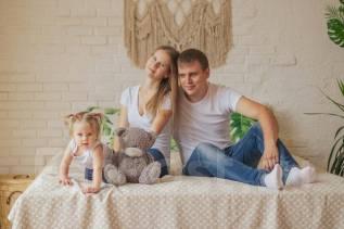 Детские, семейные фотосессии-3000 р/час. Открыта запись на Новый Год