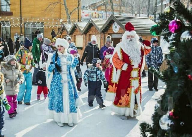 Дед мороз и Снегурочка приедут к вам Подарим праздник детям и вам
