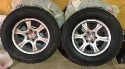 """276) Комплект шипованных колес на внедорожник. 8.0x17"""" 6x139.70 ET0"""