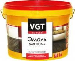 Эмаль для пола акриловая Коричневая 2,5 кг ВГТ 102572, шт