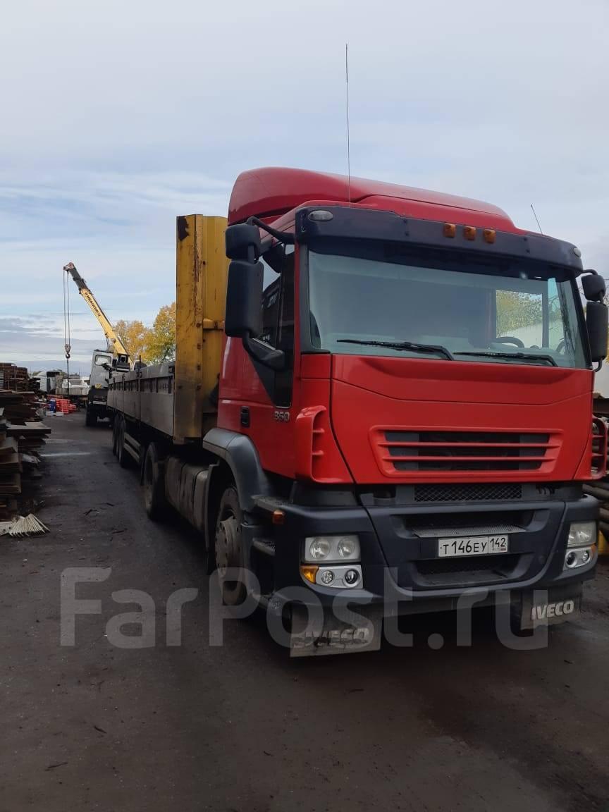 Поддержаные грузовики ивеко попадают в россию