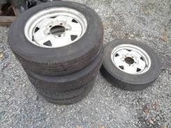 """Комплект колес (5 шт) на штамповке Suzuki Jimny всесезонка 175/80R16. x16"""" 5x139.70"""