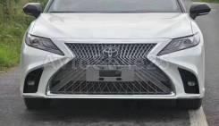 Бампер передний Camry V70, 2017+, дизайн Lexus