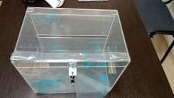 Ящик для пожертвований, изделие из акрила