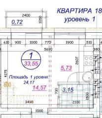 1-комнатная, Гаражная. Железнодорожный, агентство, 34кв.м.