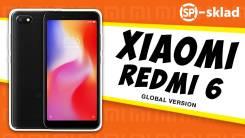 Xiaomi Redmi 6. Новый, 32 Гб, 3G, 4G LTE, Dual-SIM