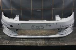 Бампер передний (под парктроник) - Volkswagen Polo (2015-н. в. )