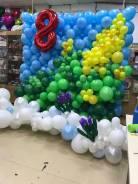 Украшение воздушными шарами ярко, индивидуально!