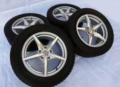 """Диски Light Alloy wheels с зимними Yokohama 255x55x18. 8.0x18"""" 5x130.00 ET53 ЦО 71,6мм."""
