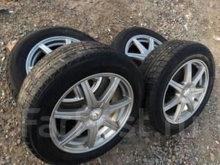 Продам колеса R17 на зимней резине!. 5x100.00, 5x114.30 ET-45
