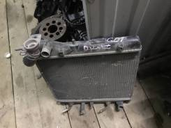 Радиатор охлаждения двигателя. Honda Jazz, GD1 Honda Fit, GD1