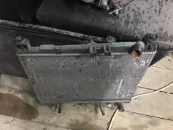 Радиатор охлаждения двигателя. Toyota bB, NCP30