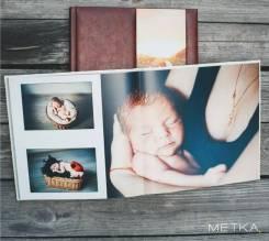 Фотокнига на память (свадьба, путешествия, дети)
