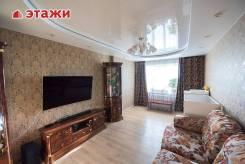 3-комнатная, улица Адмирала Горшкова 24. Снеговая падь, агентство, 82кв.м. Интерьер
