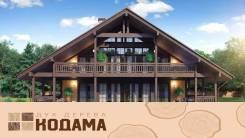 Кодама, дома из вертикального бруса Naturi. Впервые на Дальнем Востоке