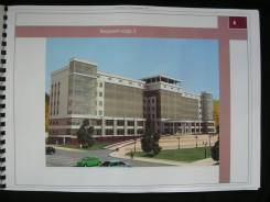 Рабочий проект на офисное здание 13300квм + парковка 2200квм
