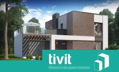 "Проект дома ""Симпл"" от компании TiViT. 100-200 кв. м., 2 этажа"