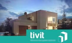 "Проект дома ""Модерн"" от компании TiViT. 200-300 кв. м., 2 этажа"