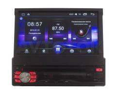 Универсальная магнитола 1DIN c выдвижным экраном Android DIN-0310