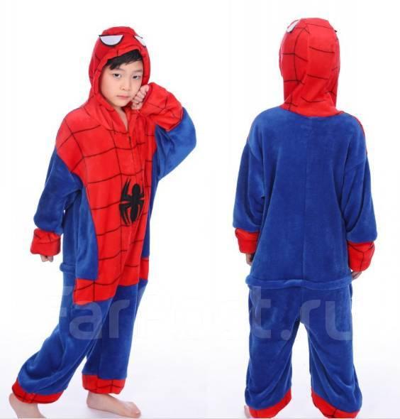 Пижама Кигуруми Человек Паук - Карнавальные костюмы во Владивостоке 9d6e82501d90f
