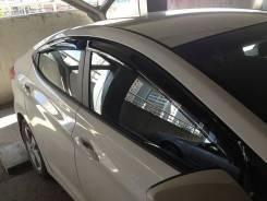 Дефлекторы боковых окон Hyundai Sonata от2017г