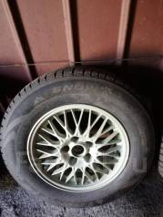 "Продам комплект зимних шин с литьём. x16"" 5x110.00 ЦО 70,0мм."
