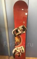 Мужской Сноуборд комплект. 155,00см., all-mountain (универсальный)