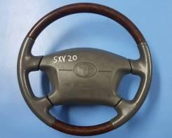 Руль. Toyota Camry Gracia, MCV21, MCV21W, MCV25, MCV25W, SXV20, SXV20W, SXV25, SXV25W Toyota Mark II Wagon Qualis, MCV21, MCV21W, MCV25, MCV25W, SXV20...
