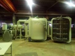 Создание участка вакуумной металлизации для массового производства