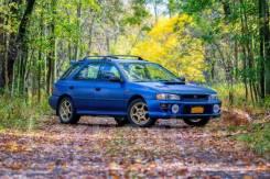 Subaru Impreza WRX STI. GF8 - Синий ПТС